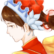 王者荣耀项羽和虞姬情侣头像,q版项羽虞姬头像漫画图片