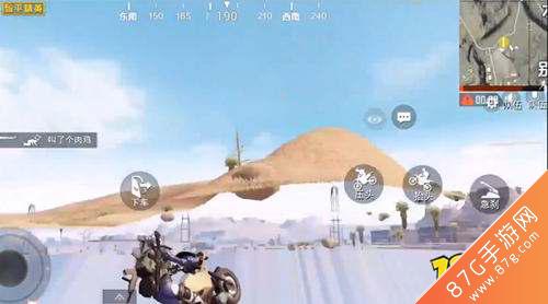 和平精英摩托车飞天BUG怎么卡 方法教程讲解
