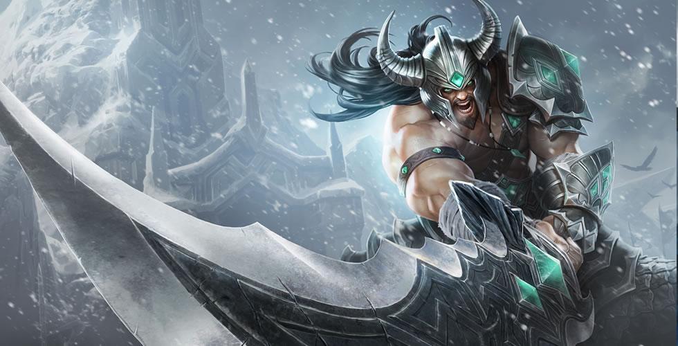 LOL 我将会是你最可怕的噩梦——蛮族之王泰达米尔上单符文出装英雄解析