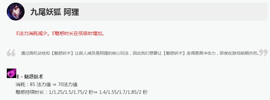 LOL狐狸电中单玩法_S8九尾妖狐阿狸天赋符文出装版本解析玩法攻略