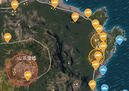 和平精英K城发育攻略 海岛超偏僻地点打野推荐