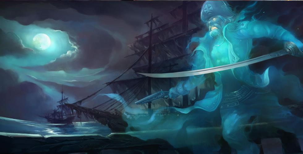 LOL海洋之灾技能解析_英雄联盟S8船长普朗克技能加点推荐