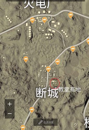 和平精英断城吃鸡攻略 沙漠地图猥琐发育的好地点