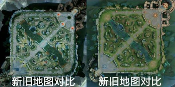 王者荣耀S14新版本地图模型预览 ;孙尚香杀手不太冷第五块原画拼图公布!!