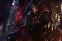 LOL RNG小虎吸血鬼技能连招玩法_S8吸血鬼符文天赋出装打法攻略