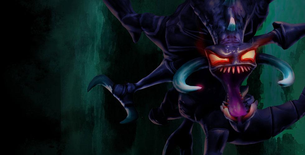 LOLS9季前赛虚空恐惧科加斯上单玩法_含大虫子符文出装解析攻略