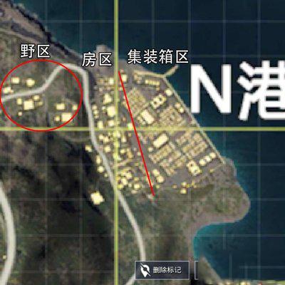 和平精英海岛N港怎么打 资源点分布生存攻略