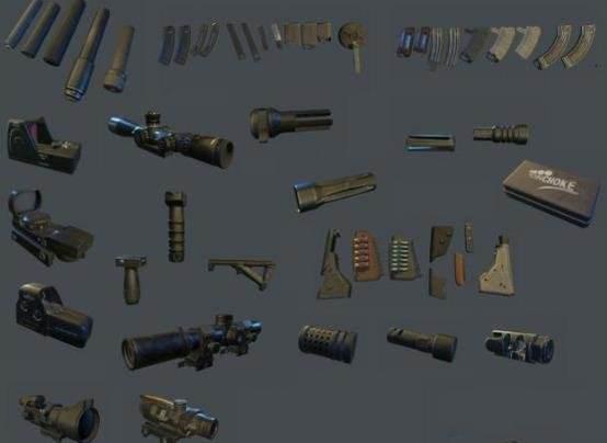 和平精英配件大全 所有枪械配件倍境使用搭配推荐