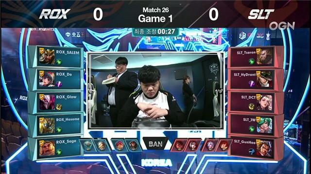 王者荣耀KRKPL常规赛第26场快讯:SLT以微小差距输给ROX 双方对战十分精彩