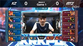 王者荣耀KRKPL韩国职业联赛快讯:KZ再次零封ATZ 干将爆炸输出上演逆天翻盘