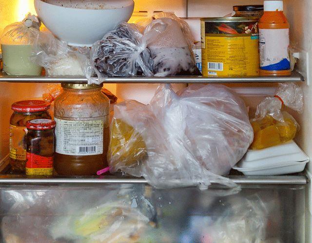 问:要把食物放冰箱,应该分几层?