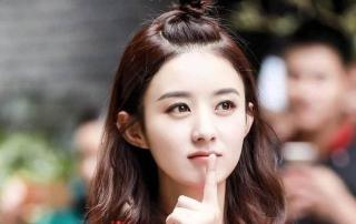 女神赵丽颖的发型示范,只要发型选得对,圆脸也能秒变时尚小V脸